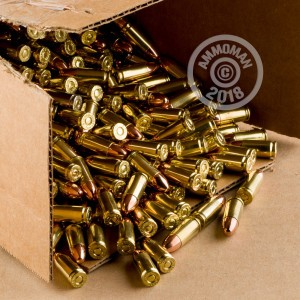 An image of 9mm Luger ammo made by DRS at AmmoMan.com.