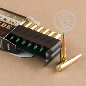 An image of 300 AAC Blackout ammo made by Nosler Ammunition at AmmoMan.com.
