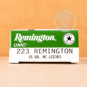 Photo of 223 Remington metal case ammo by Remington for sale.