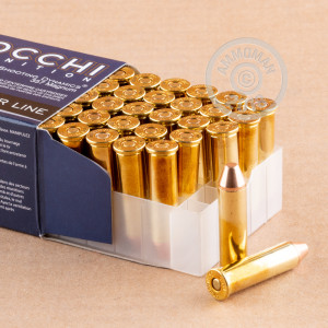 Photo of 357 Magnum FMJ ammo by Fiocchi for sale at AmmoMan.com.