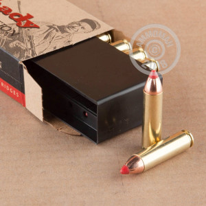 An image of 450 Bushmaster ammo made by Hornady at AmmoMan.com.