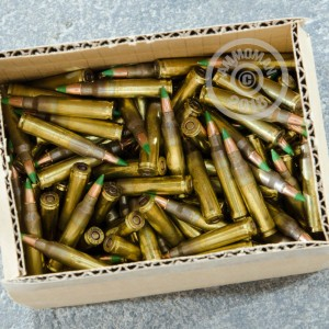 Photo of 5.56x45mm FMJ ammo by Lake City for sale.