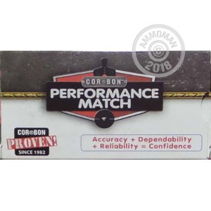 Photo of 223 Remington Hollow-Point Boat Tail (HP-BT) ammo by Corbon for sale.