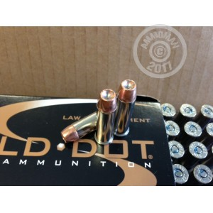 An image of 357 Magnum ammo made by Speer at AmmoMan.com.