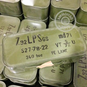 Photo of 8mm Mauser FMJ ammo by Romanian Surplus for sale.