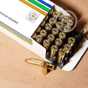 Image of Armscor .30 Carbine rifle ammunition.