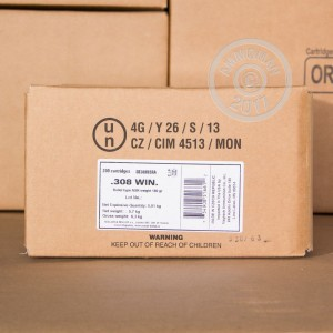 Photo of 30.06 Springfield Nosler Partition ammo by Sellier & Bellot for sale.