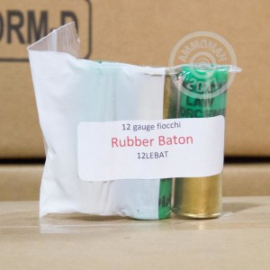 Great ammo for less lethal purposes, these Fiocchi rounds are for sale now at AmmoMan.com.