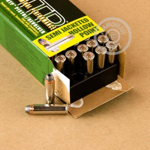 An image of 357 Magnum ammo made by Remington at AmmoMan.com.