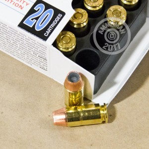 Photo of .40 Smith & Wesson JHP ammo by Corbon for sale at AmmoMan.com.