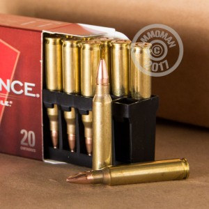 Photo of 5.56x45mm GMX ammo by Hornady for sale.