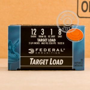 Great ammo for target shooting, these Federal rounds are for sale now at AmmoMan.com.