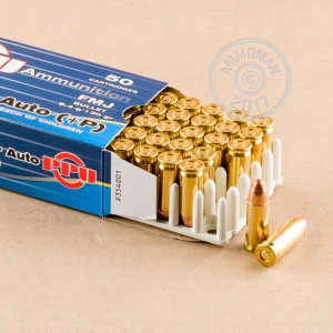 Image of Prvi Partizan 38 Super pistol ammunition.