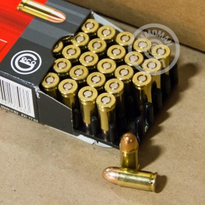 Photo of .32 ACP FMJ ammo by GECO for sale at AmmoMan.com.