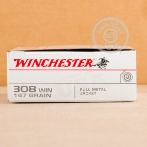 Image of 308 / 7.62x51 pistol ammunition at AmmoMan.com.