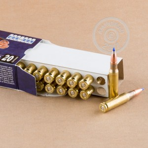 Image of Corbon 308 / 7.62x51 rifle ammunition.