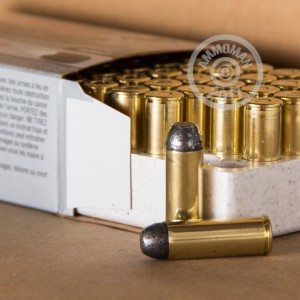 Photo of .45 COLT Lead Flat Nose ammo by Winchester for sale at AmmoMan.com.