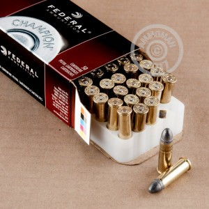 Photo of 38 Special Lead Round Nose (LRN) ammo by Federal for sale at AmmoMan.com.