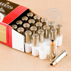 Image of 38 Special ammo by Federal that's ideal for home protection.
