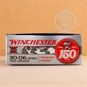 Photo of 30.06 Springfield Power-Point (PP) ammo by Winchester for sale.