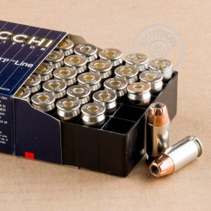 Image of .45 Automatic ammo by Fiocchi that's ideal for home protection.