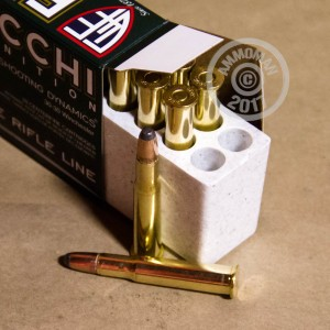 Photo of 30-30 Winchester Pointed Soft-Point (PSP) ammo by Fiocchi for sale.