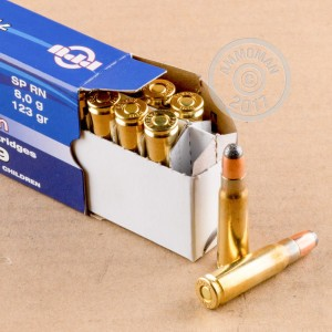 A photograph of 1000 rounds of 123 grain 7.62 x 39 ammo with a soft point bullet for sale.