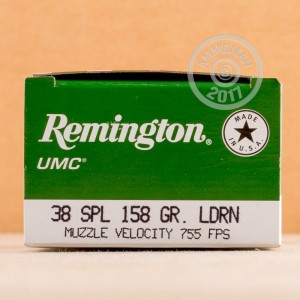 Image of 38 Special pistol ammunition at AmmoMan.com.