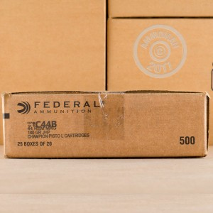 An image of 44 Remington Magnum ammo made by Federal at AmmoMan.com.