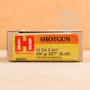 Photograph of Hornady 12 Gauge Sabot Slug for sale at AmmoMan.com