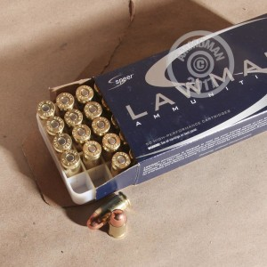 Image of .45 Automatic ammo by Speer that's ideal for shooting indoors, training at the range.