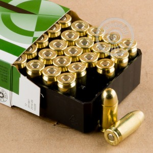 Photo of .45 Automatic FMJ ammo by Remington for sale at AmmoMan.com.