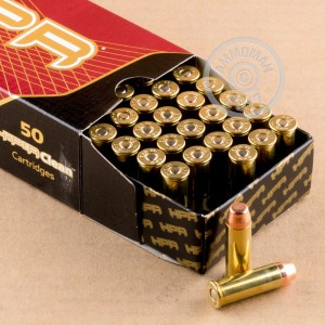 An image of 44 Remington Magnum ammo made by HPR at AmmoMan.com.