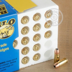 Image of Buffalo Bore 9mm Luger pistol ammunition.