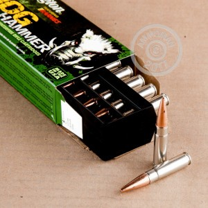 A photograph of 20 rounds of 130 grain 300 AAC Blackout ammo with a TSX bullet for sale.