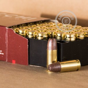 A photo of a box of Fiocchi ammo in 9mm Luger.