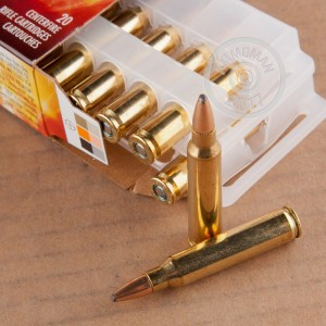 Image of 223 Remington pistol ammunition at AmmoMan.com.