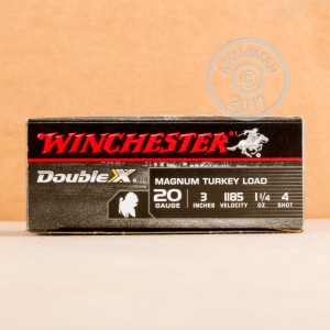 Photograph of Winchester 20 Gauge #4 shot for sale at AmmoMan.com