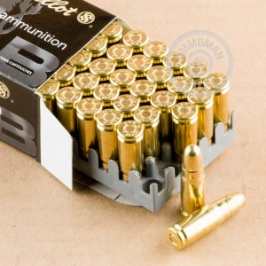 Image of 7.62 x 25 pistol ammunition at AmmoMan.com.