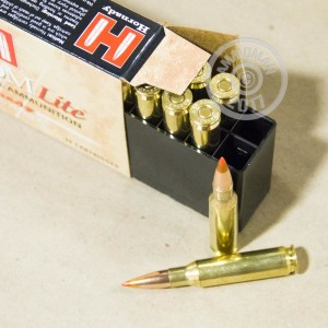 A photograph of 20 rounds of 120 grain 7mm-08 Remington ammo with a SST bullet for sale.