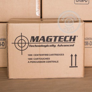 Image of .40 Smith & Wesson ammo by Magtech that's ideal for training at the range.
