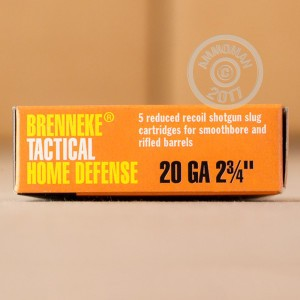 Great ammo for hunting, these Brenneke Slugs rounds are for sale now at AmmoMan.com.