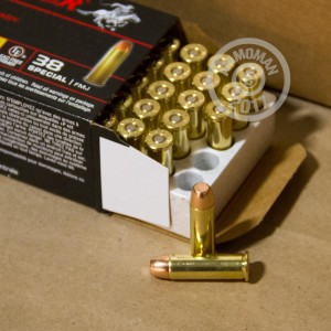 Photo of 38 Special FMJ ammo by Winchester for sale at AmmoMan.com.
