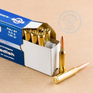 Photo of 6.5 x 55 Swedish FMJ ammo by Prvi Partizan for sale.