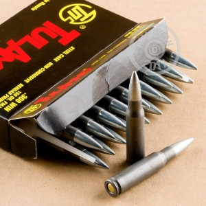 A photo of a box of Tula Cartridge Works ammo in 308 / 7.62x51.