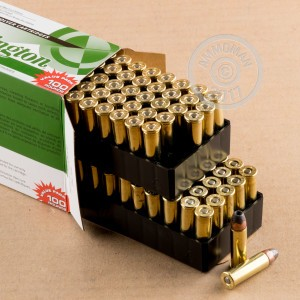 A photograph detailing the 38 Special ammo with semi-jacketed hollow-Point (SJHP) bullets made by Remington.