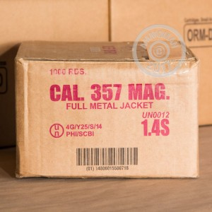 Photo of 357 Magnum FMJ ammo by Armscor for sale at AmmoMan.com.