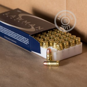 Image of 357 SIG ammo by Speer that's ideal for shooting indoors, training at the range.