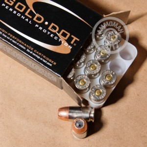 A photograph of 20 rounds of 200 grain .45 GAP ammo with a JHP bullet for sale.