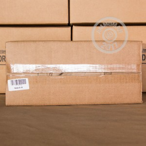 Image of bulk 30.06 Springfield rifle ammunition at AmmoMan.com that's perfect for training at the range.
